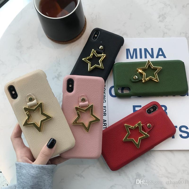 Fashion Trend Star Theme phone cover case for iPhone 6 6s 7 8 8plus XR X back cover for Apple iphone x xr 7plus case for iphone xs max