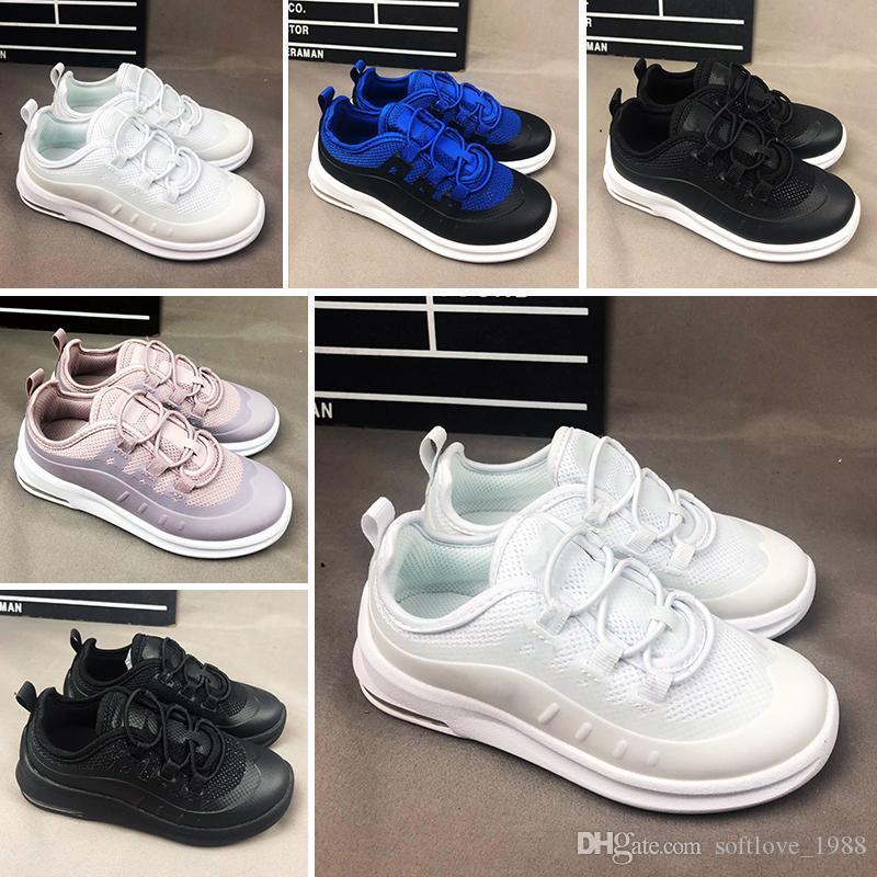 Nike air max 98 Meilleur Chaussures Enfants Baskets Chaussures classic 98 Enfants Chaussures De Course Noir Blanc Entraîneur Air Cushion Respirant