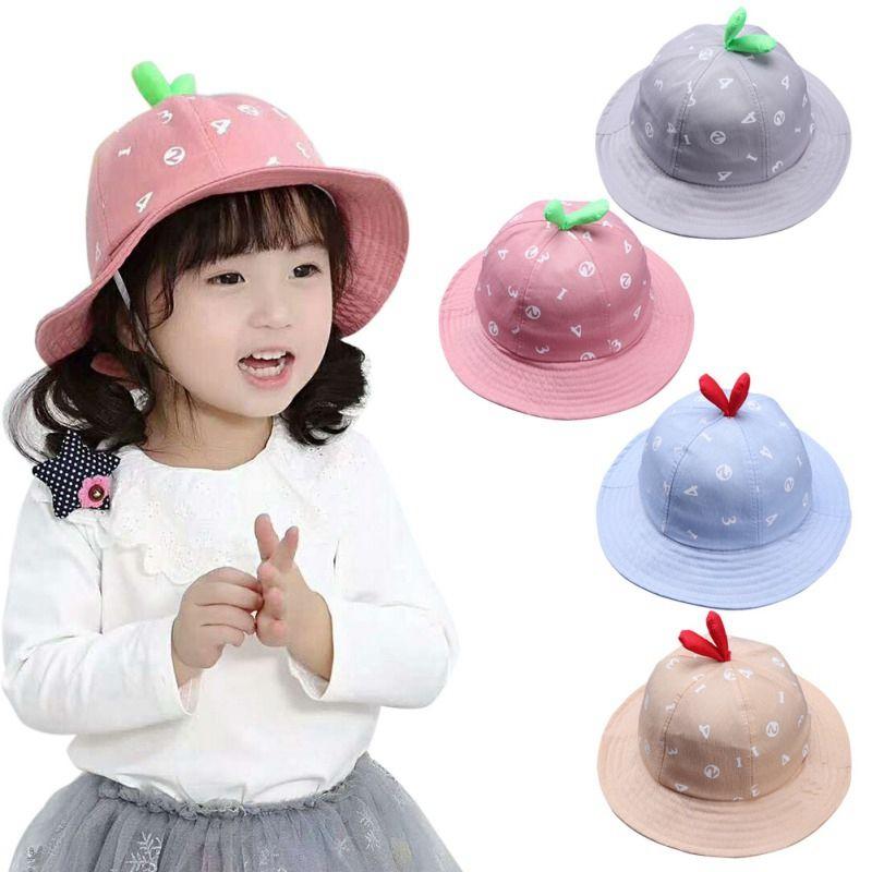 60c1af6cc788 2019 Spring Summer Baby Hat For Boys Girls Toddler Caps Digital ...