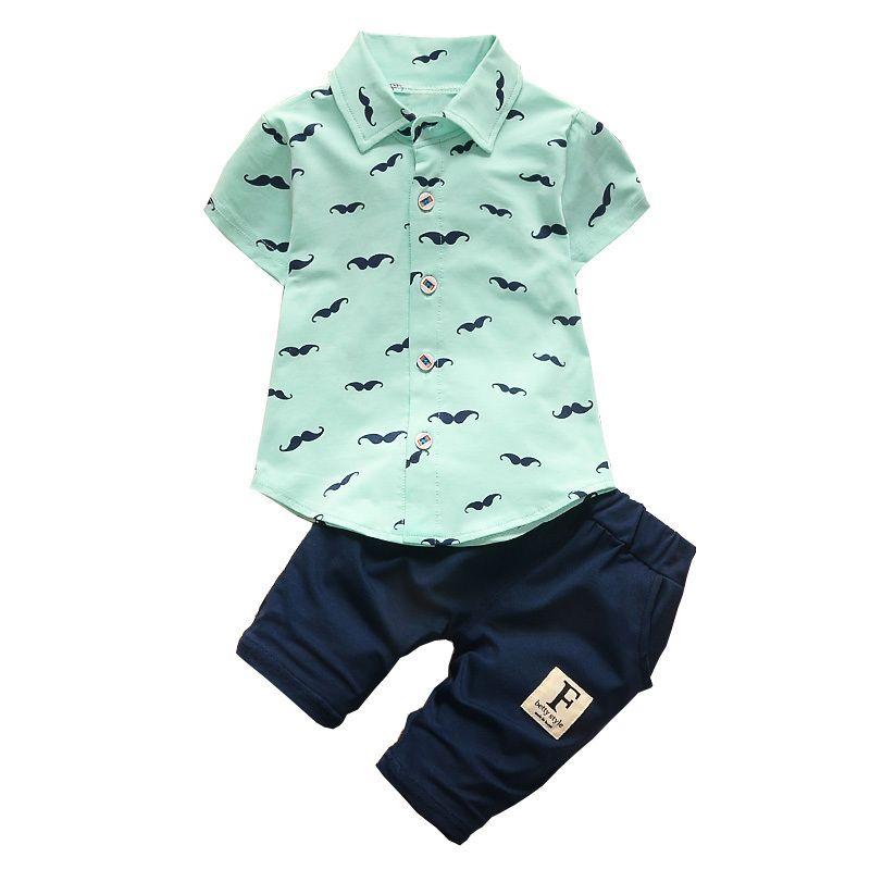 Compre Buena Ropa De Verano Para Bebés Varones Qulaity Conjunto Infantil De  Dibujos Animados Camiseta + Pantalones Trajes Toddle Bebe Deporte Trajes  Bebé ... f5dd80b1fab