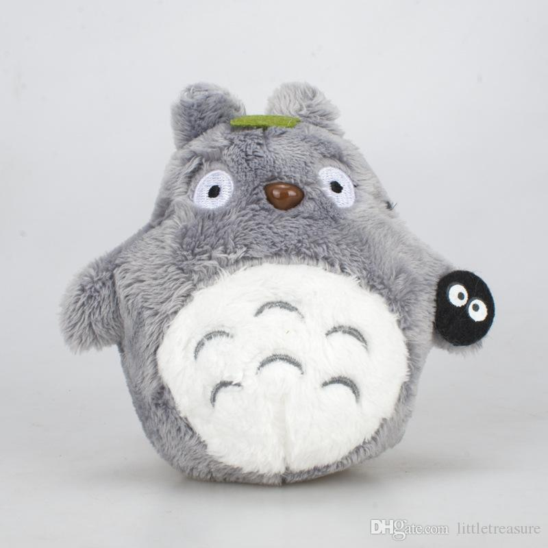 Totoro Plush Toys Kids kawaii Soft Stuffed Animals Cat Cartoon Toy Doll for Wedding Birthday Party Christmas Decoration Two colors 10pcs/lot
