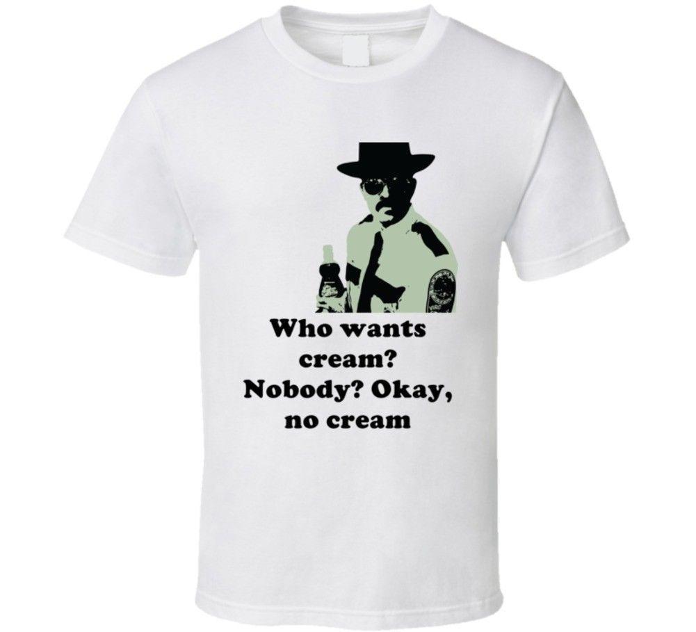 1764ed3c3 Okay, No Cream Cool Super Troopers 2001 Thorny T Shirt Men Women Unisex  Fashion Tshirt Top Tee White Designer White T Shirt Printed T Shirts Funny  From ...