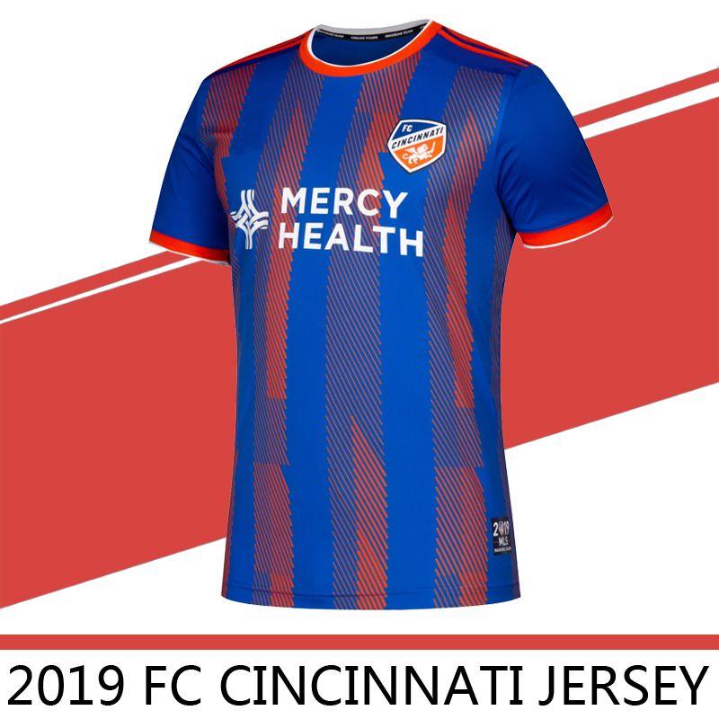 8df6b2cda 2019 2020 MLS Men s FC Cincinnati home Soccer Jerseys Football Shirt 19 20  GARZA WASTON BERTONE ADI men Soccer jerseys Football Shirts