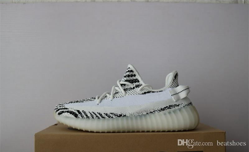 Designer Shoes Kanye West 700 Stivali Static Refective Sneakers Wave Runner Scarpe da corsa Butter Zebra Bread Oreos Scarpe da ginnastica SZ US 5-13