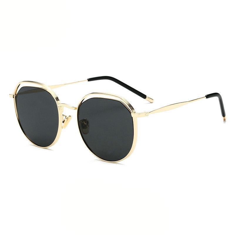 2d70f8dcfb MINCL  Vintage Round Sunglasses Women Men 2018 Fashion Metal Frame Chic  Glasses Retro Pink Sun Glasses Women UV400 NX Online with  31.29 Piece on  ...