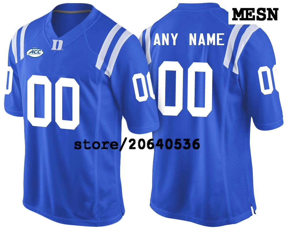Cheap Custom Duke Blue Devils College Jersey Mens Women Youth Kid  Personalized Any Number Of Any Name Stitched Blue Football Jerseys UK 2019  From ... 86e759b61