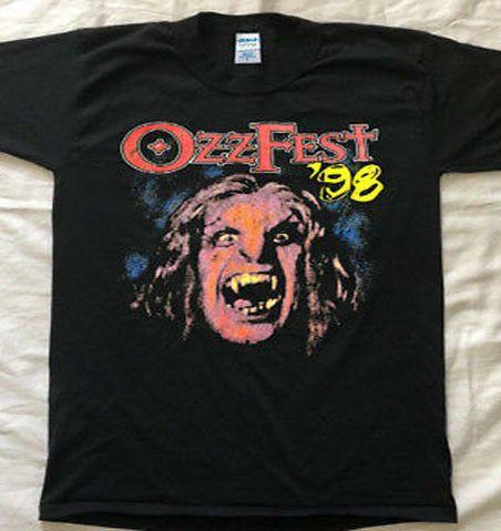 e8b663c5a Rare 1998 Ozzfest Ozzy Osbourne Tour VTG GILAN Shirt Megadeth Great ...