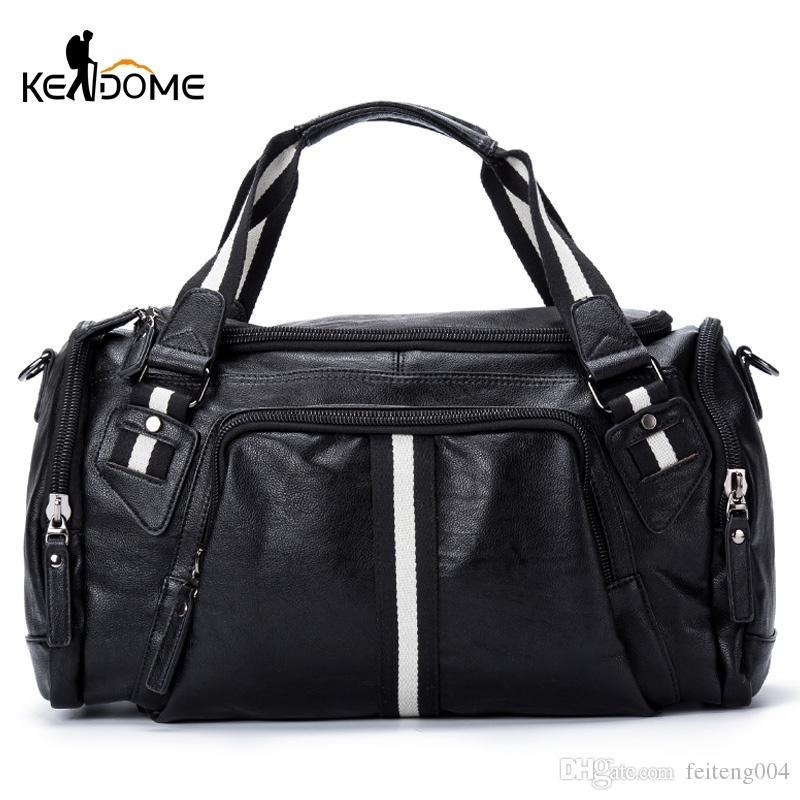 5111f42363d Fitness Gym Bag Travel Handbag For Women Men Large Capacity Stripe Shoulder  Training Bags Bolso Sac De Sport Sporttas Sack XA66D #744018 UK 2019 From  ...