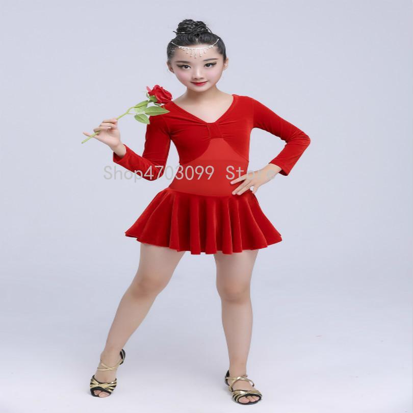 ea24851e9 2019 2019 New Models The New Children S Latin Dance Skirt Girls ...