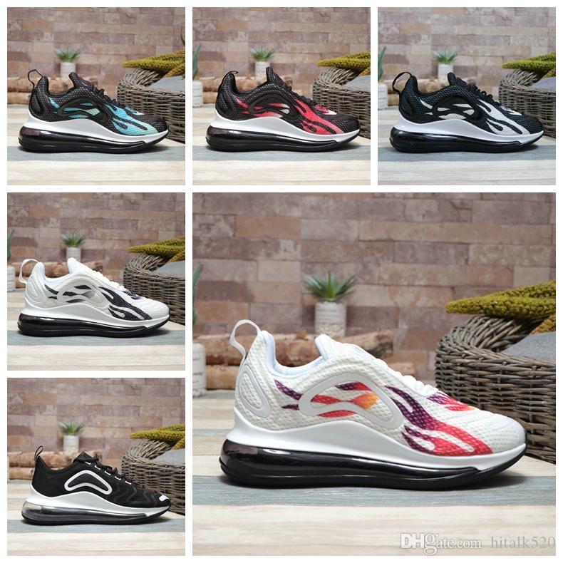 brand new e3e55 c8764 Compre Nike Air Max 720 Airmax Nuevo 720 Cojín Zapatillas De Running Para  Hombre Aire Original TN Moda 720s Cómodo Y Transpirable Con Fondo Plano Con  ...