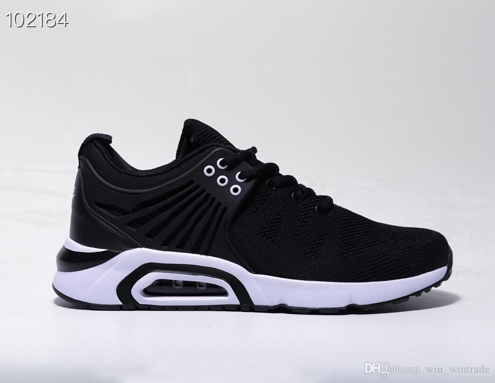 photos officielles 8339e 421f2 2019 Nouveautés Chaussures Design Air Chaussures Baskets Mode Athlétisme  Baskets presto Running Chaussures taille 36-45