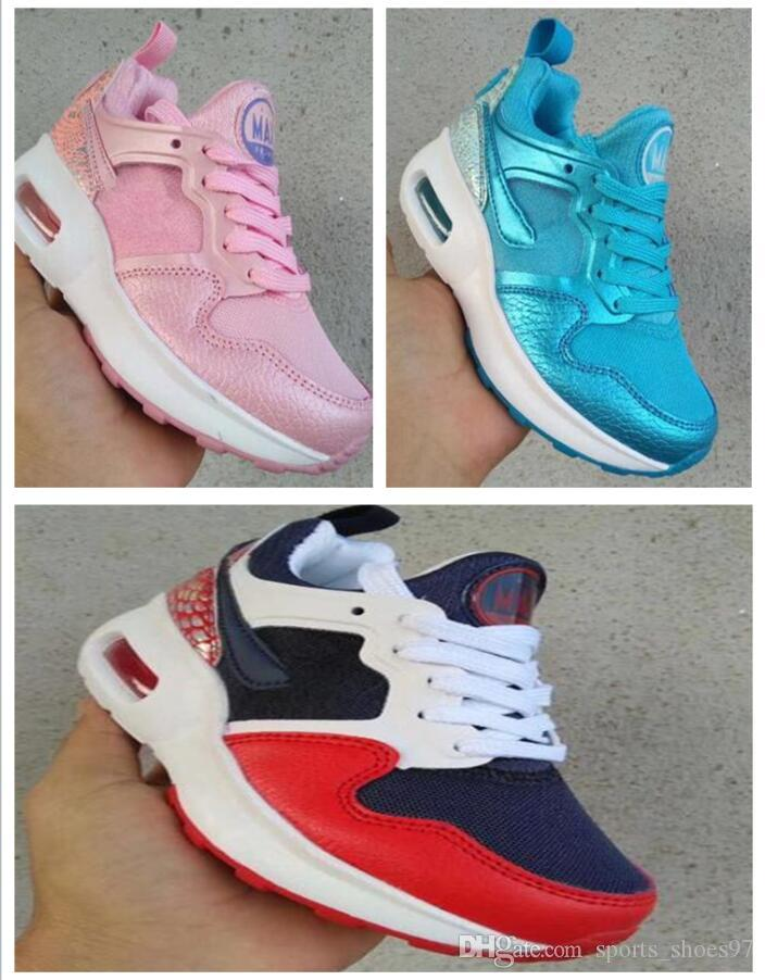 Sneakers 97s Chaussures 2018 New Shoes Children's 97 Maxes Girl 1 Running Balance De Boys Trainers Toddler Sports Size Kids Boy Youth HqwxqfgZ