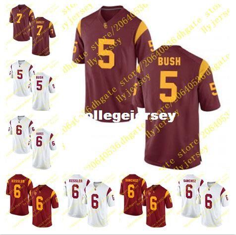 Cheap Mens Reggie Bush Jersey Ajene Harris Cody Kessler Mark Sanchez ... 773ea0630