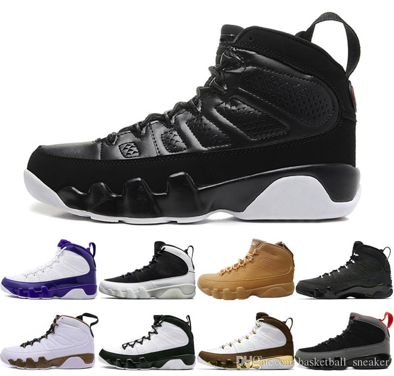outlet store c692d 7fced 2019 Mop Melo Bred Black white 9 9s basketball shoes IX Men OG space jam  wheat The Spirit Lakers PE Anthracite sports Sneakers