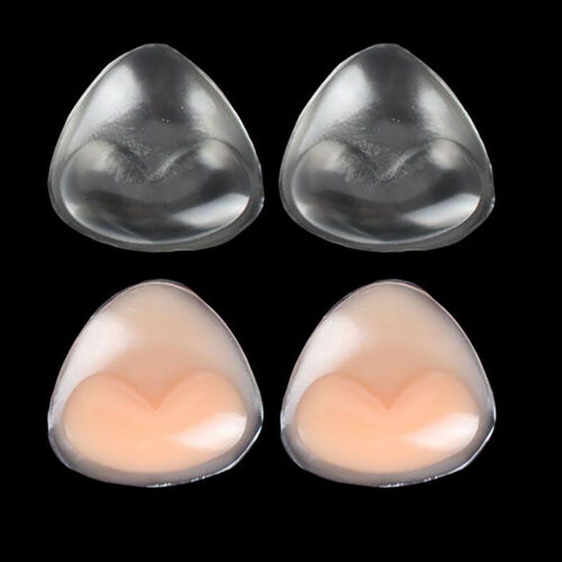 Donne Lady silicone del seno Pads Boob Ascensore nastro Bra copertura dell'ugello Sticker Pad reggiseni sexy Nuovo 2019