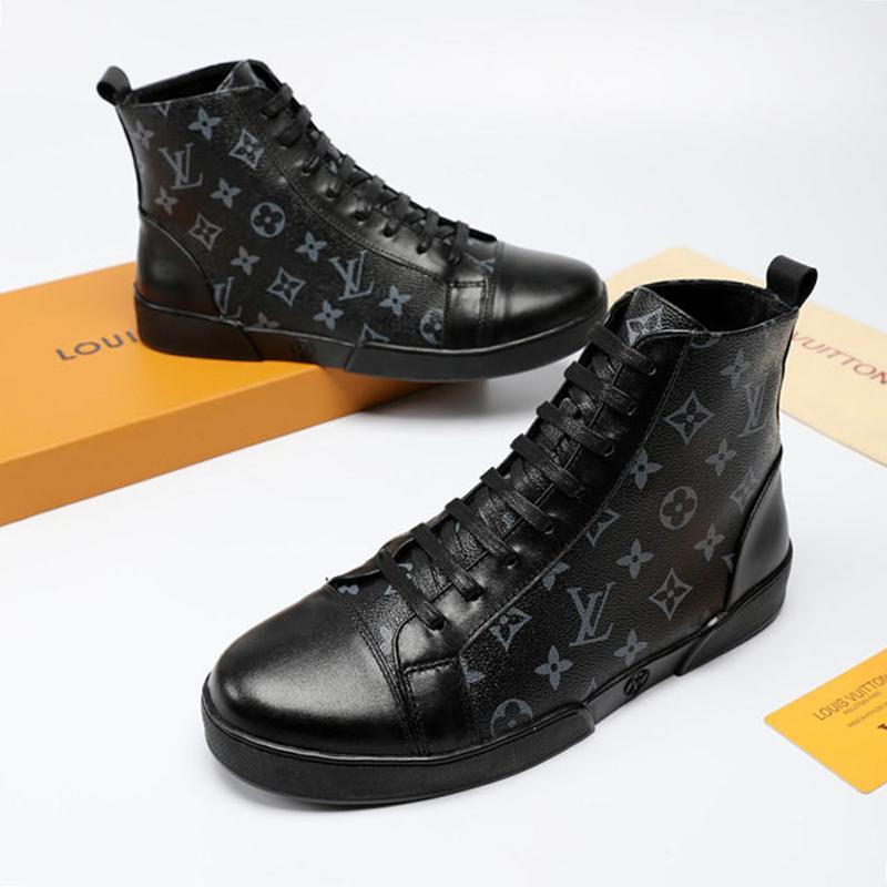 big sale 29c93 70b28 Freizeitschuhe Stiefel Mode Schuhe für Herren Trainer Freizeitschuhe  Stiefeletten aus Plüsch Offshore-Stiefeletten Ankle Boots Chaussures pour  hommes