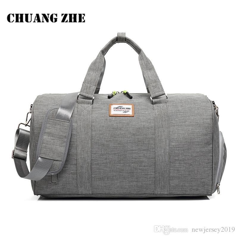 77596e17be 2019 Fitness Gym Bag For Women Men Outdoor Sports Bags With Shoes Storage Handbag  Shoulder Crossbody Bags Travel Duffle Bolsa XA571YL  109997 From ...