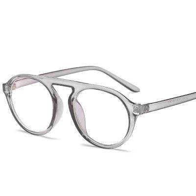 ec2779f899 Compre Retro Punk Gafas Redondas Montura Para Mujeres Hombres Gafas Falsas  Monturas Lentes Transparentes Espectáculo Anti Radiación UV400 Gafas A  $34.32 Del ...