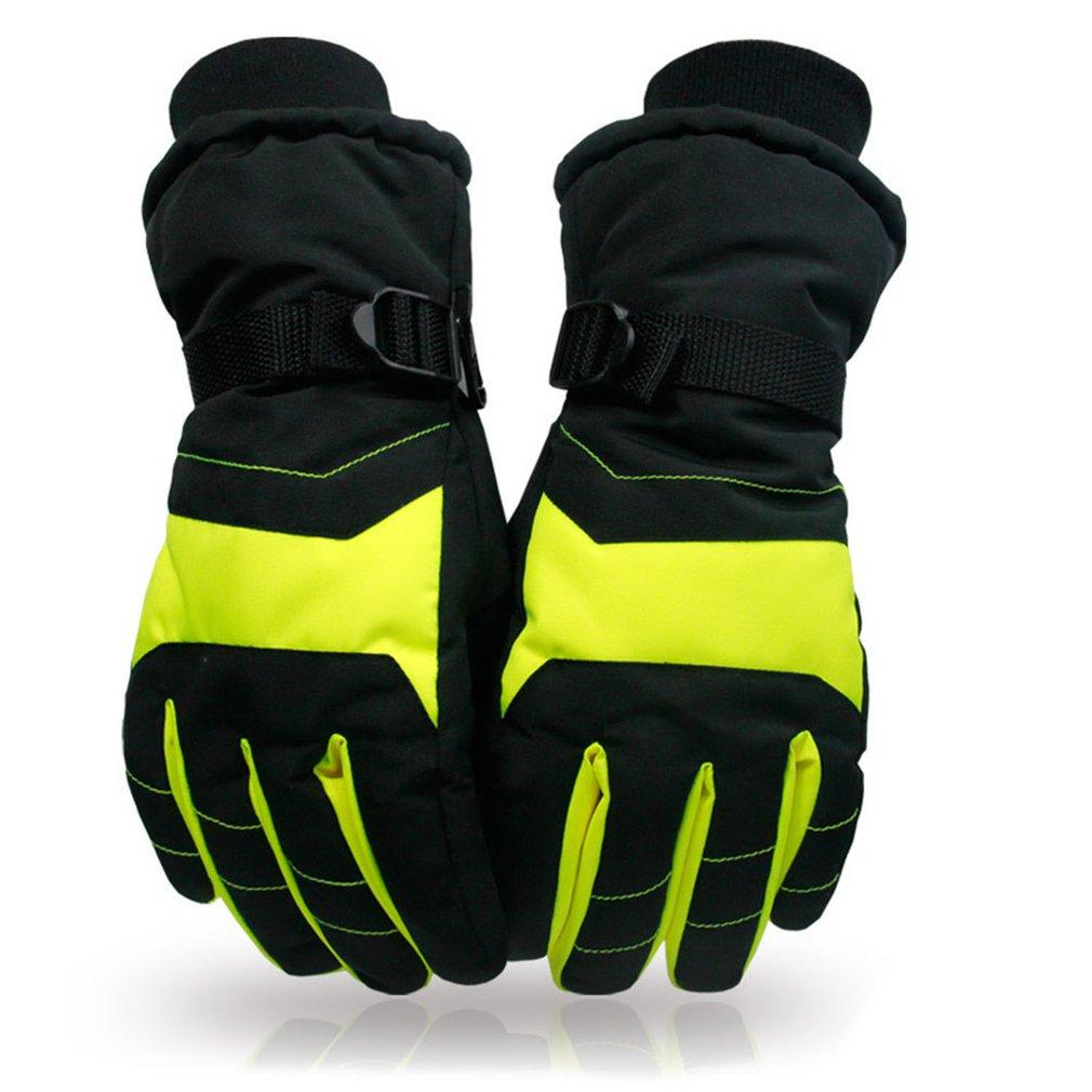 b5ca35bd89f1 Ski Gloves Antiskid Wear Resistant Riding Mountain Skiing Snowmobile ...