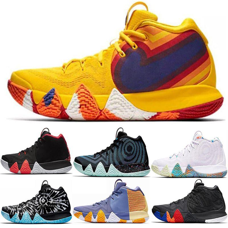 7e9117d067d4 2019 2019 Lrving 4 4s Men Basketball Shoes Uncle Drew Triple Black Oreo 70s  80s 90s Mamba Mentality Red Carpet Cheap Sport Sneaker 40 46 From Qaz0626