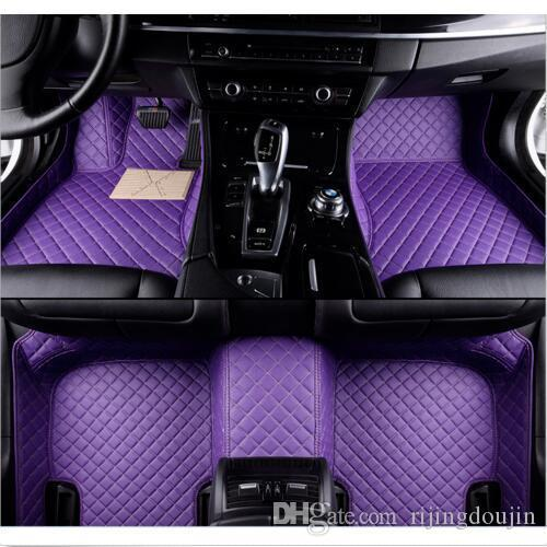 For F it Mercedes-Benz GLC 2017-2019 All-Weather Waterproof Car floor mat Non toxic inodorous