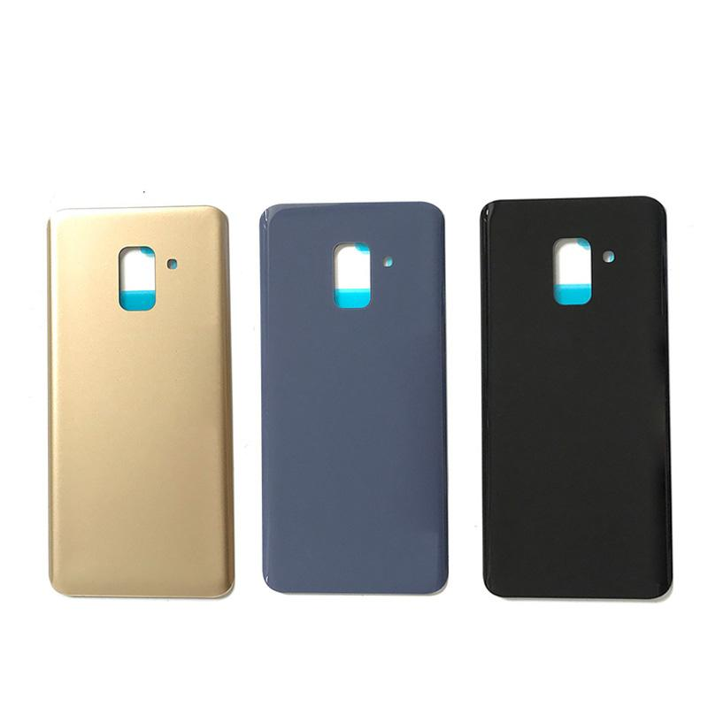 For Samsung Galaxy A8 2018 A530 SM-A530N Back Cover Battery Case Samsung A8 2018 A530F 3D Glass Rear Housing Cover Replacement