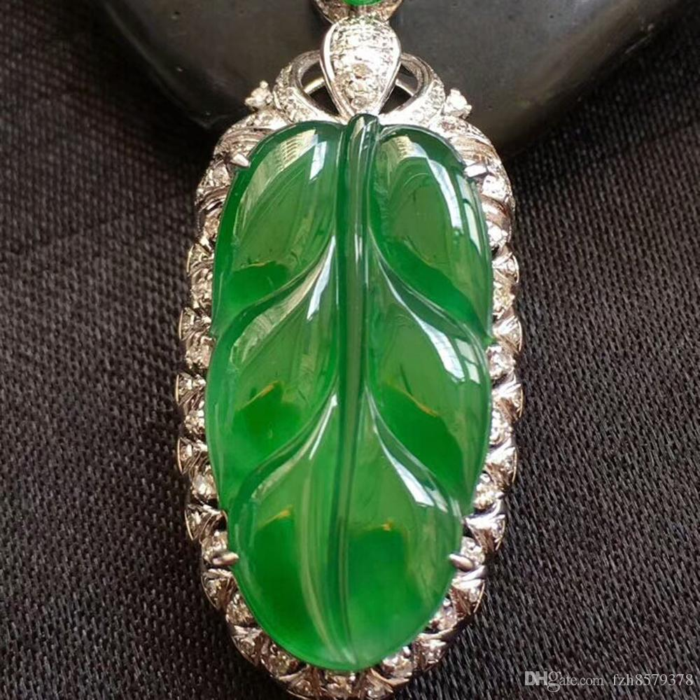 Jewelry & Watches Green Jasper Vintage Style Gemstone 925 Silver Jewelry Pendant Jade White