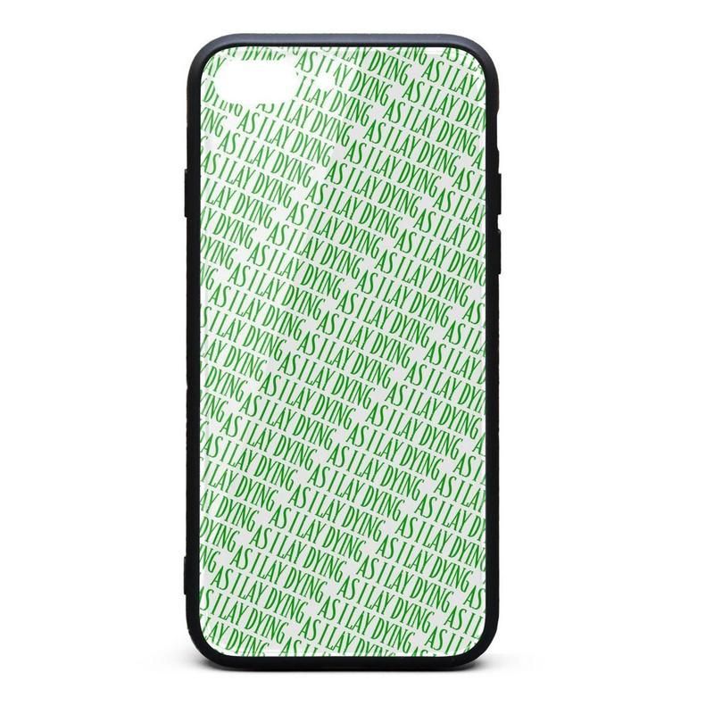 big sale 9761a 8e6fe IPhone 8 Plus Case iPhone 7 Plus Case As I Lay Dying logo green pretty  scratch-resistant TPU Soft Rubber Silicone Cover Phone Case