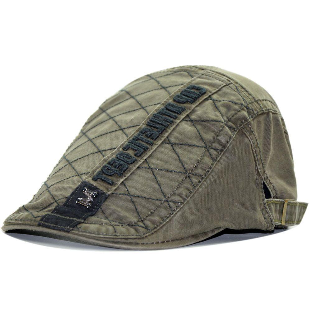 ee4a2de812a6 Boina de invierno para hombre Gorras M letra Gorra retro británica al aire  libre sombrero de ocio femenino