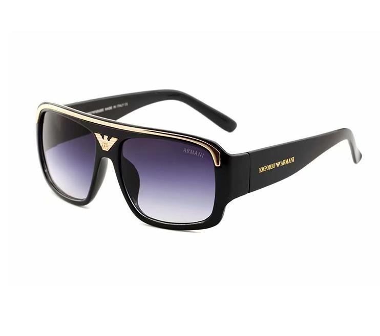 927a63a760 Compre 2019 Diseñador De La Marca De Moda Gafas De Metal Grandes Gafas De Sol  Para Hombres Mujeres Lentes De Vidrio Protección UV 290 Gafas De Sol A  $9.14 ...