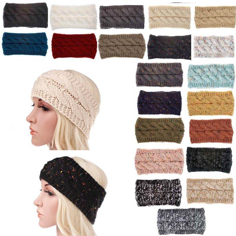 Knitted Hairband for Women Winter Soft Head Wrap Ear Warmer Confetti ... b44da58e5d3