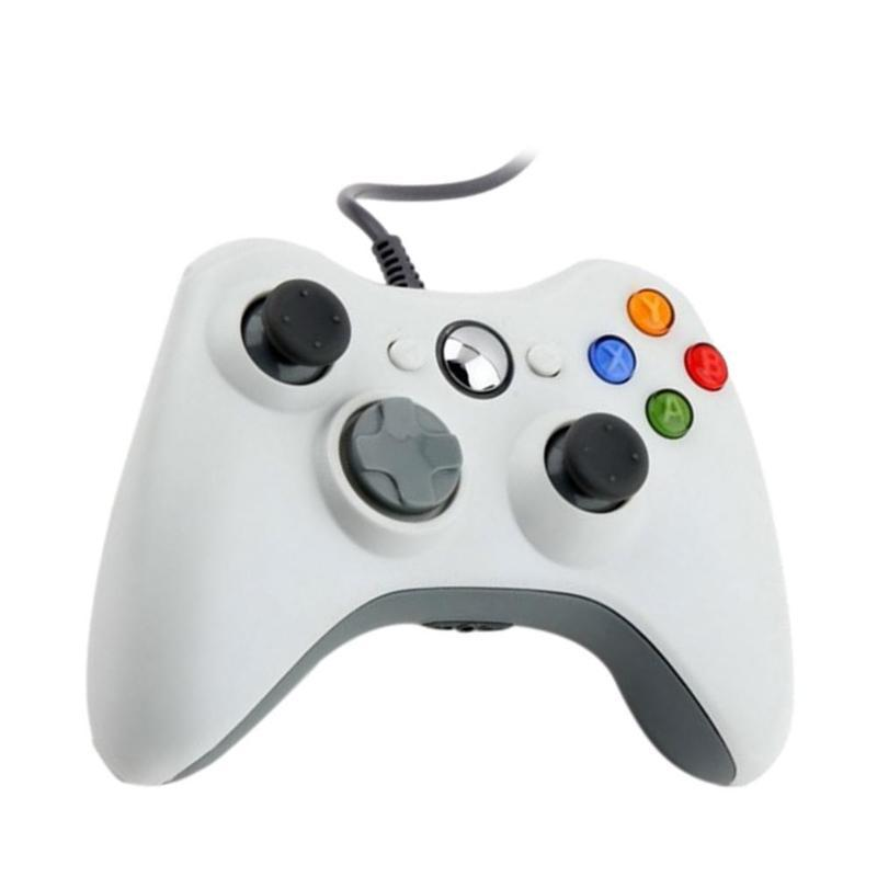 USB Wired Gamepad For Xbox 360 Controller Joystick For Official Microsoft  xbox 360 slim PC Controller Windows 7 8 10