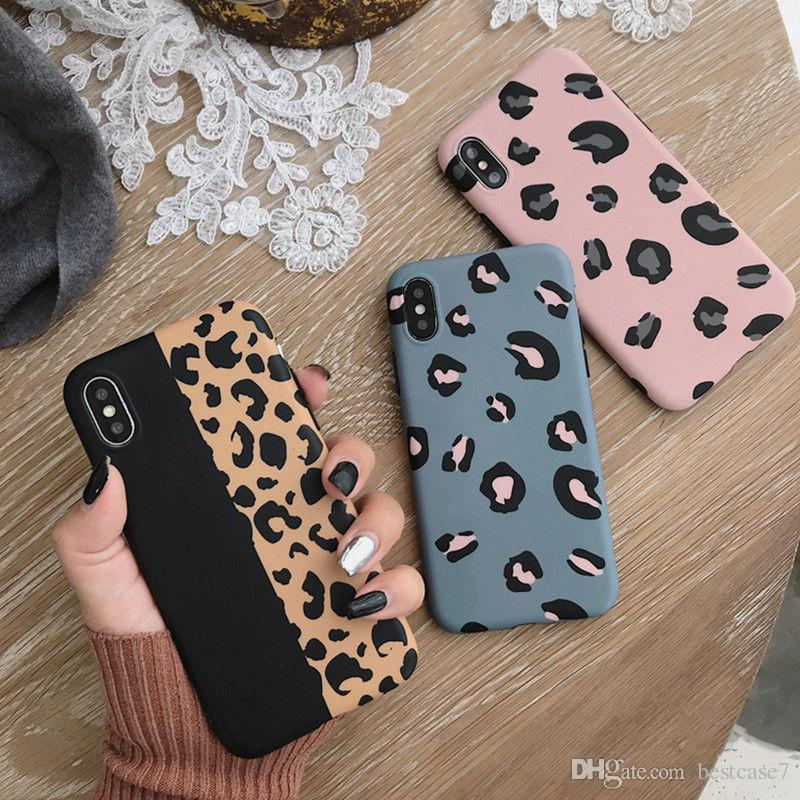 Luxury Leopard Print Pattern TPU Soft Rubber Ultra-Thin Shockproof Back Phone Case All Cover For Apple iPhone XS Max XR X 8 7 6S Plus