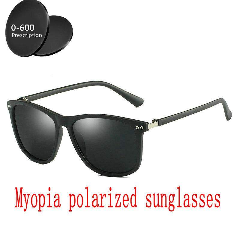 3aa7b69136a 2019 Diopter Finished Myopia Polarized Sunglasses Men Women Nearsighted  Glasses Fashion Square Men s Driving Goggles UV400 FML Sunglasses Cheap  Sunglasses ...
