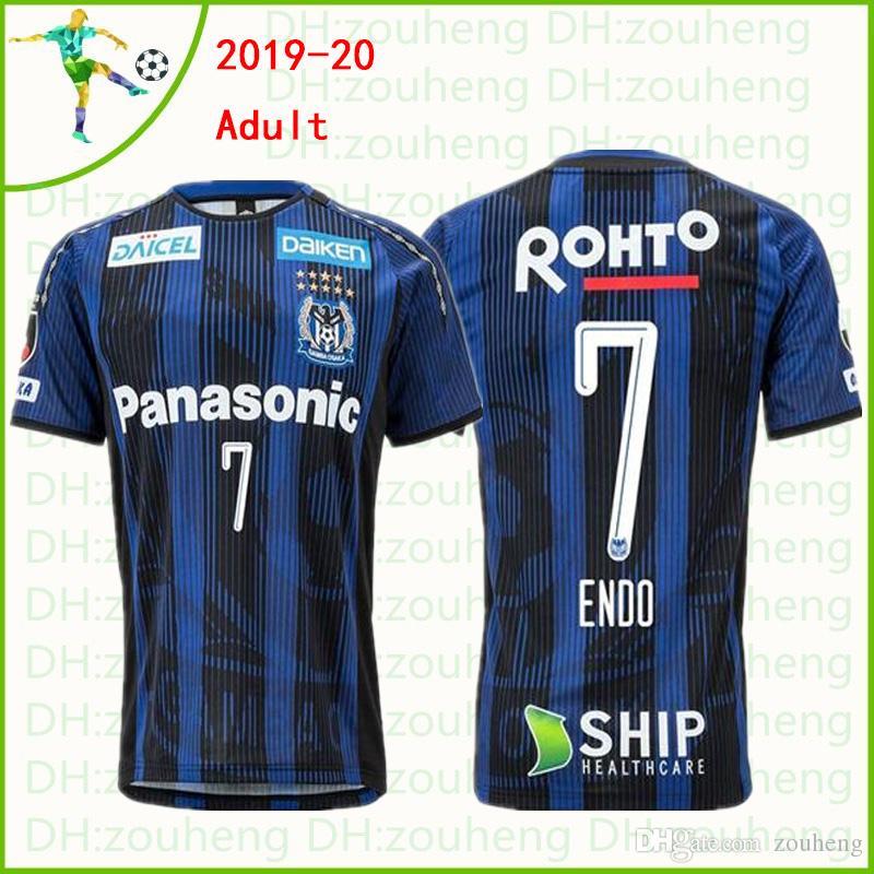 J League Football Shirts: 2019 Gamba Osaka 2019 2020 Soccer Jerseys 10 KURATA 7 ENDO