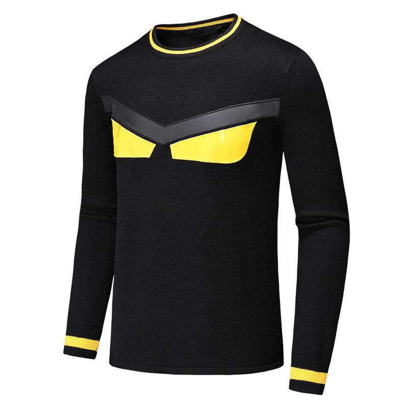c6f579b7782d 2019 2019 Designer Sweater Men Brand Pullover Hoodie Long Sleeve Luxury  Sweatshirt Monster Eyes Knitwear Winter Mens Clothing Plus Size M 3XL From  Vogoboy, ...