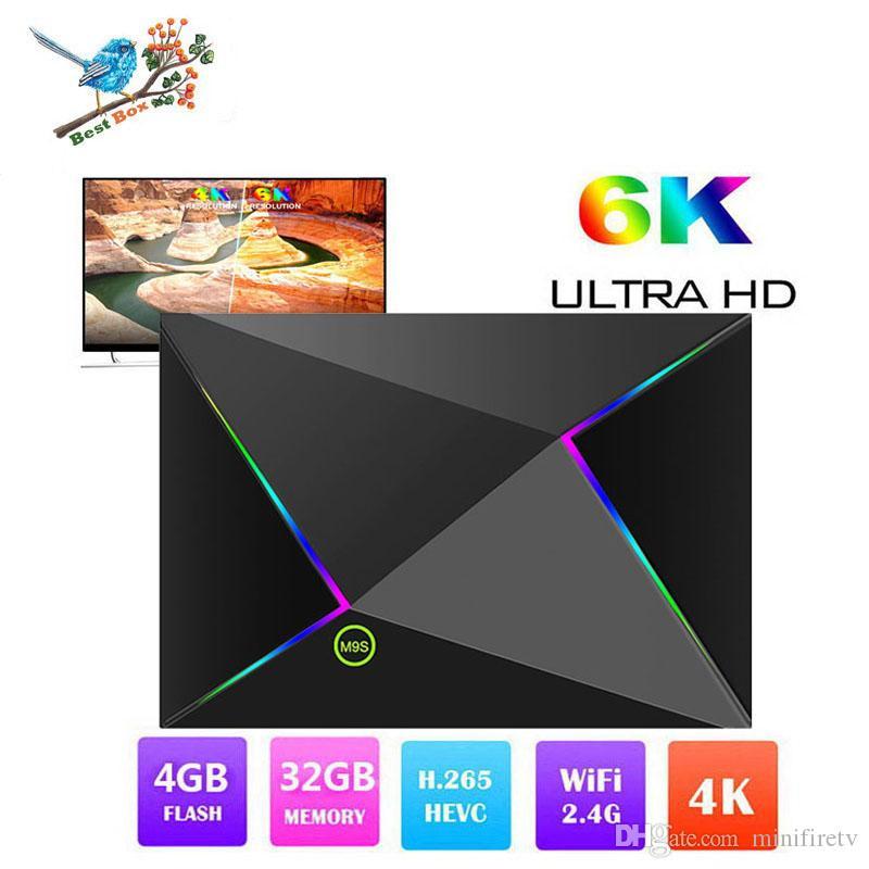 M9S Z8 Android 9 0 TV Box Allwinner H6 Quad Core 4GB Ram 32GB Rom WiFi 2 4G  6K Smart tv box Better RK3328 S905X2 Better S905W S905X2 RK3229