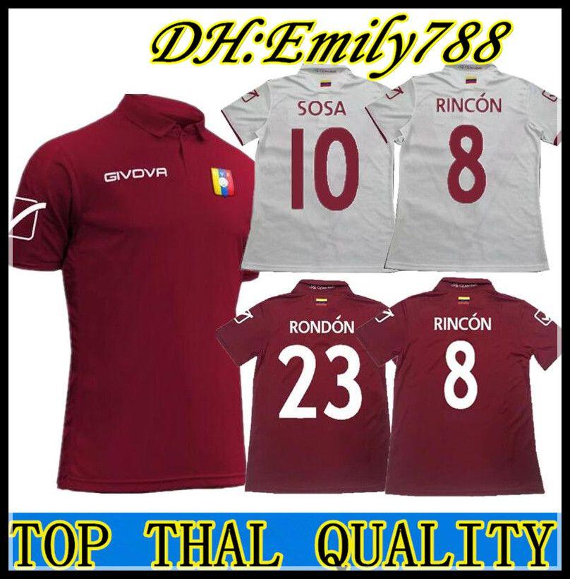 bcf42d9e92030 2019 2020 Copa America Venezuela Casa Camisetas De Fútbol Camiseta ...