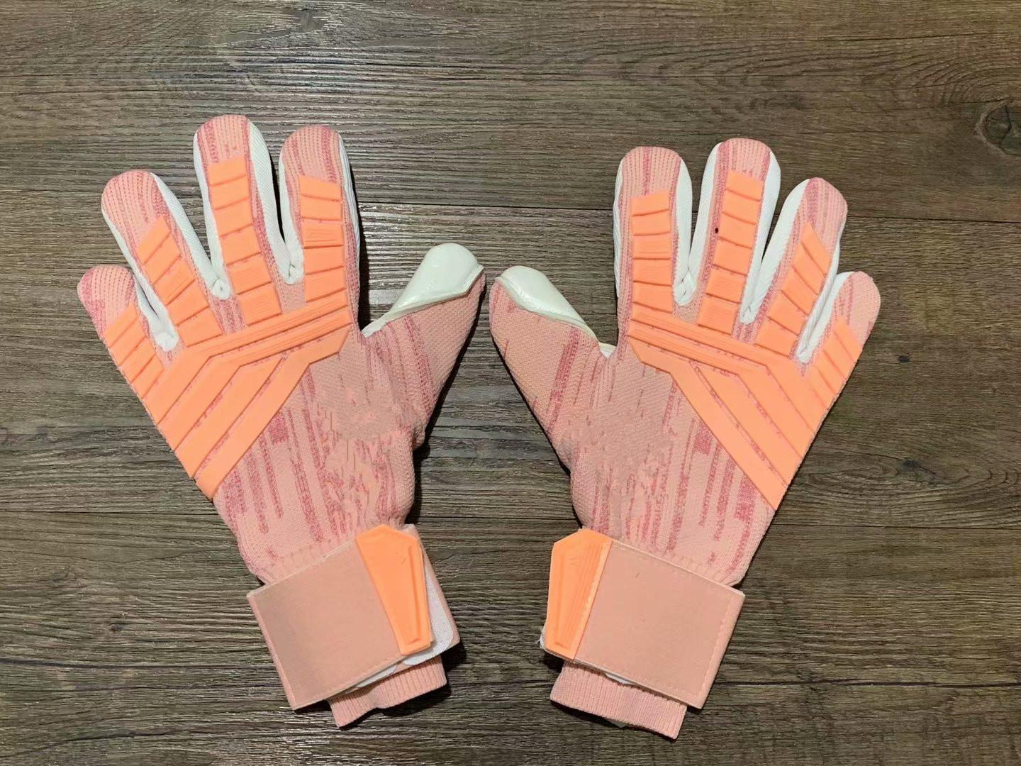 Wholesale-Imported AD Luhuang 2018 men Soccer GoalKeeper Gloves finger latex Volleyball Sports Gloves SIZE