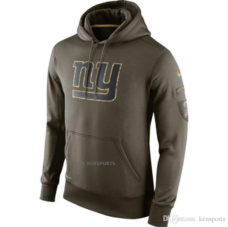 2018 Men Women Youth New York Giants Olive Salute To Service KO Performance  Hoodie From Vga1 5253c3f16