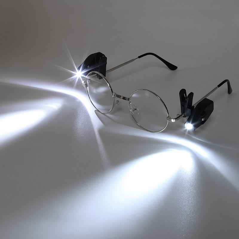 ca067bb66f9 2019 Flexible Book Reading Lights Night Light For Eyeglass And Tools Mini LED  Eyeglass Clip On Universal Portable From Cornelius
