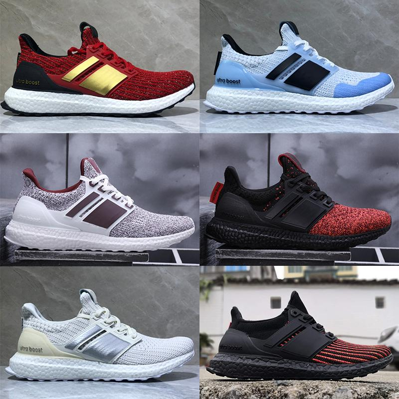 4467370a9811b Acquista Economici Game Of Thrones Ultra Boost Targaryen Dragons Lannister  Stark White Walkers Uomo Donna Ultraboost UB 4.0 PK Scarpe Casual Sneakers A  ...