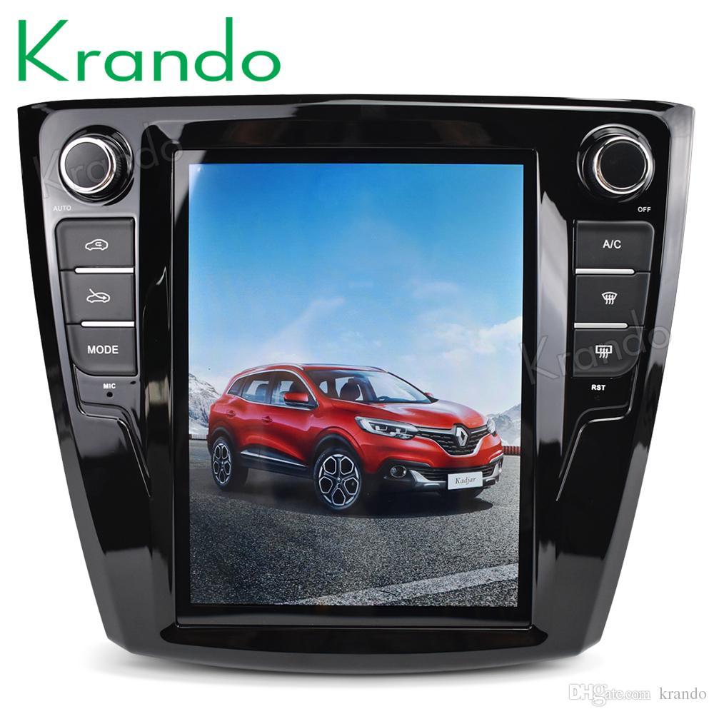 6c3a87d2f5 Compre Krando Android 7.1 10.4 Estilo Tesla Tela Vertical Do Carro Dvd  Rádio De Áudio Gps Player De Navegação Para Renault Kadjar Sistema  Multimídia Wi Fi ...