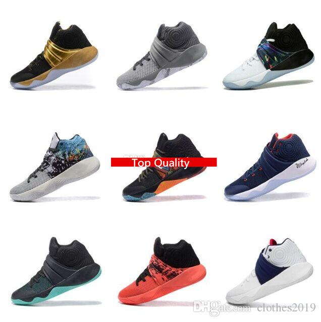47fb0f166944 2019 2018 New Kyrie Irving 2 2S Basketball Shoes Sports Men Sneakers Red  Outdoor Trainers Running Shoes From Clothes2019