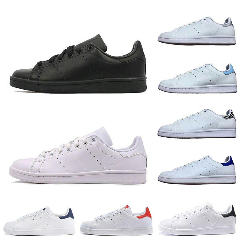 le dernier db789 a5c56 adidas stan smith 2019 designer stan luxe chaussures mode smith mens fille  femmes vert noir bule casual cuir sport baskets chaussures taille 36-45