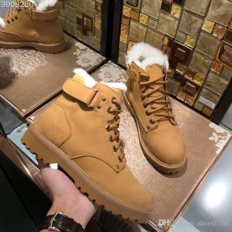4b5c72620cf12 Compre Botas De Nieve De Ocio De Mujer Nueva Para El Invierno 2019 Zapatos  De Ocio De Mujer Nueva Para El Invierno 2019 Moda De Alta Gama A  83.42 Del  .