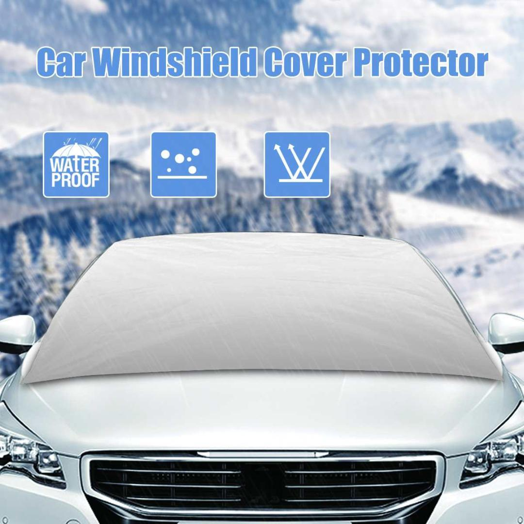 Universal Car Windshield Cover Auto Sunshade Shield Windscreen Visor Snow Ice Frost Cover Protector