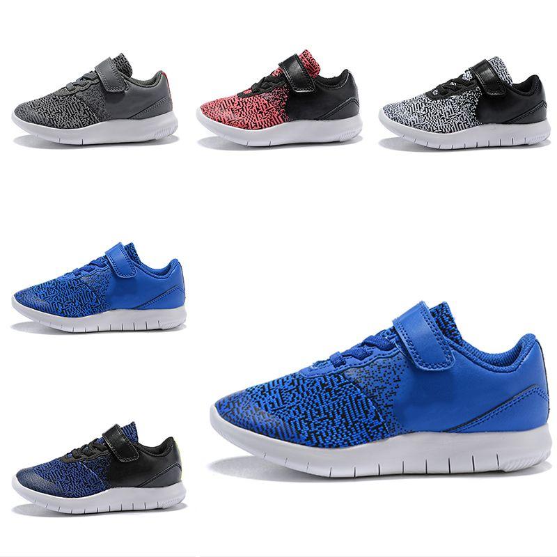 Compre NIKE FLE X CONTACT Zapatillas Infant Boys Boys Flex Contact  Zapatillas De Running De Alta Calidad Para Niños Pequeños Negro Blanco Azul  Bebé ... a64cb29050930