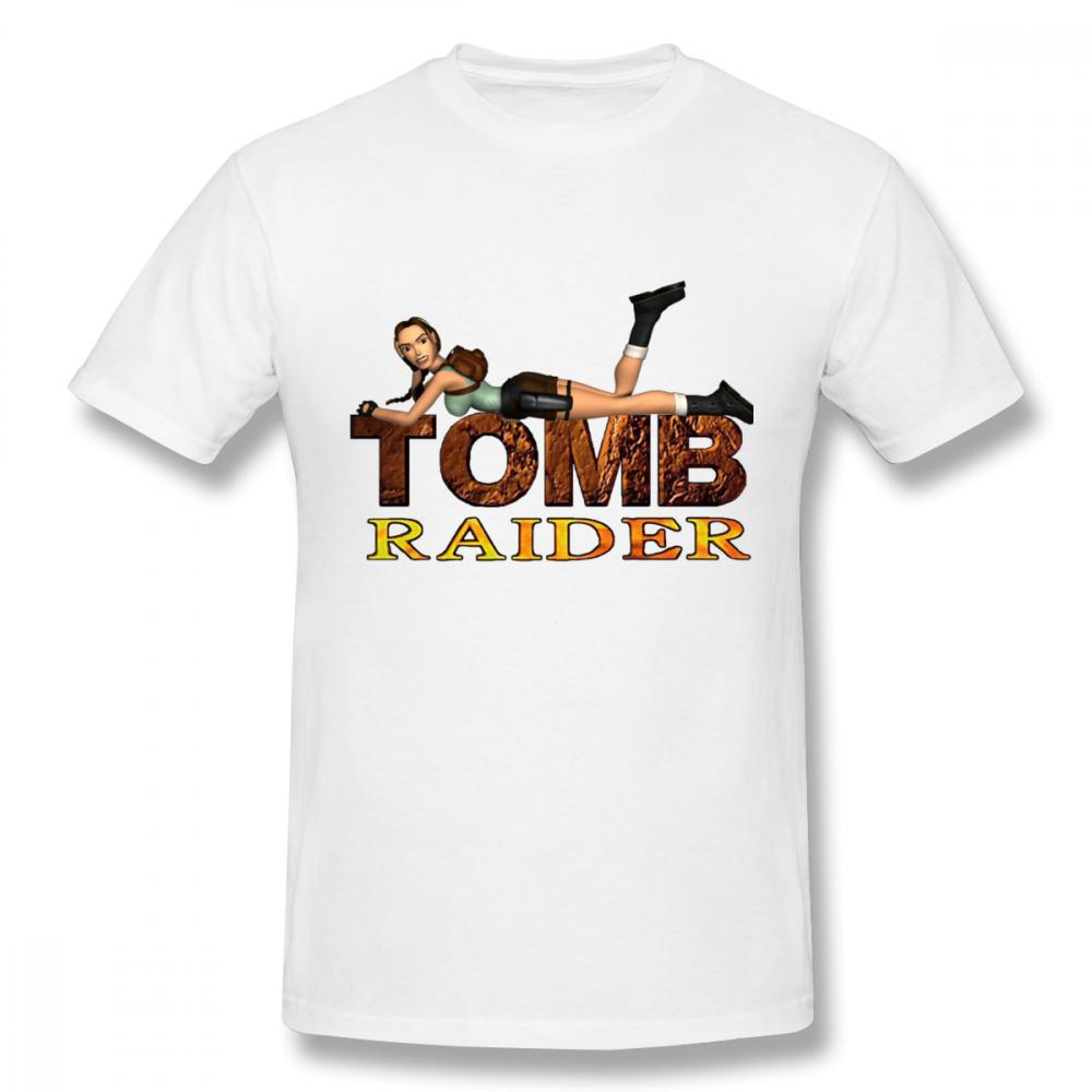 Harajuku Stylish Tomb Raider Tee Shirt Boy Graphic Print S-6XL T Shirt Hot sale New Arrival Popular Round Neck t