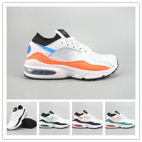 93 Herren Laufschuhe Designer Sneakers Luxus Marke Air Schuhe Schwarz Weiß Trainer Casual Wandern Jogging Leichtathletik Outdoor Sport Schuhe Hot